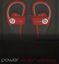 Beats by Dre PowerBeats2 Wireless Sport Headphones W/ In Line Mic Red Brand New