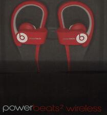 Beats by Dre PowerBeats2 Wireless Sport Headphones W/ In Line Mic Red Brand New