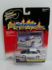 Rare Johnny Lightning Street Freaks 99 Honda Civic White Lightning Chase