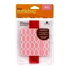 Cuttlebug Embossing Folder + Border MODERN WALLPAPER
