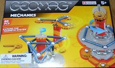 Mechanics Geomag 86 Piece Magnetic Builsing Construction Toy Ages 5+ #721
