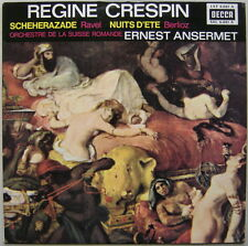 LP ANSERMET, Régine CRESPIN / Ravel & Berlioz.. / Decca SXL 6081 Fr NM