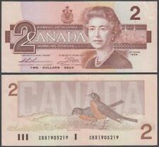 Canada - Elizabeth II, 2 Dollars, 1986, VF+++, P-94(b)