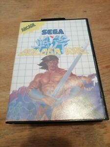 Golden Axe SEGA Master System Game Boxed Good Condition