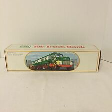 1984 Hess Truck w/Bank in The Original Box Never Been Play With