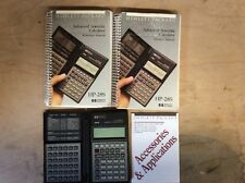 Hewlett-Packard Hp-28S Scientific Calculator with Reference & Owners Manuals