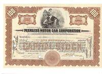 Peerless Motor Car Corporation 1929