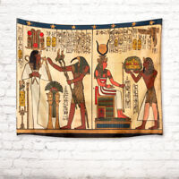 Egyptian Papyrus Pattern Tapestry Wall Hanging Living Room Bedroom Dorm Decor