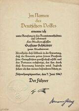 DOCUMENT ADOLF HITLER ET HERMANN GOERING