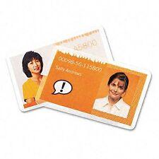 "Gbc Heatseal Laminating Pouch - Badge Card - 2.56"" Width X 3.75"" Length X 5 Mil"