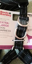 Boots & Barkley Extra-Large Dog Harness Reflective Step-In Adjustable +90 lbs