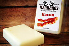 ManHands BACON Soap Man Soap: Make Your Dude Smell Like Bacon 3 oz.