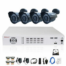 iSmart 8CH 960H DVR 700TVL IR Night View Outdoor CCTV Camera security System 1TB