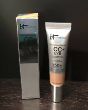 IT COSMETICS YOUR SKIN BUT BETTER CC + EYE SPF 50 + ~ TAN ~ .33 OZ NEW IN BOX