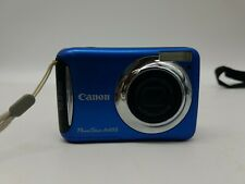 Canon PowerShot A495 10MP Digital Camera w/3.3x Zoom Blue    Tested And Works