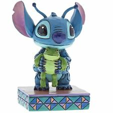 Disney Traditions 4059741 Strange Life Forms Stitch with Frog Figurine