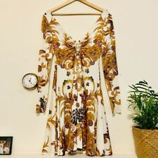 Authentic Just Cavalli Luxury Fashion Dress
