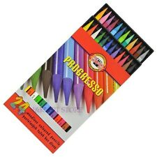 Koh-I-Noor Progresso Woodless Coloured Pencils - Set24