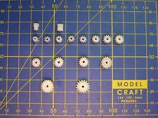2 pignons M0.5 axe 2 mm choix 7 à 20 dents moteur loco HO JOUEF ROCO STROMBECKER
