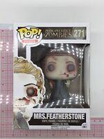 Funko POP! Movies Pride Prejudice Zombies Mrs. Featherstone #271 Vinyl Figure O4