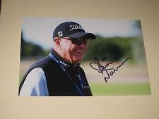 Golfer BUTCH HARMON Signed 4x6 Photo PGA GOLF AUTOGRAPH 1B