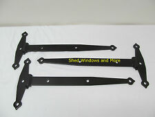"20"" Strap Barn Hinge Heavy Duty Gate Hinge (6 ea)Shed Door Hinge Barn Door Hinge"