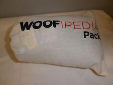 WOOFIPEDIA PACK~JO jo FLESH BLANKET/DOGGY BUBBLES/MEGLAST BONE/RY'S RUFFERY NEW