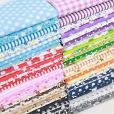 7 pcs 50*50cm Cotton Fabric Assorted Squares Pre-Cut Quilt Quarters Bundle