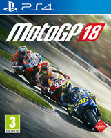 MotoGP 18 For PS4 (New & Sealed)