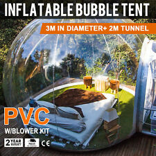 New Luxury Outdoor White Tunnel Clear Dome Inflatable Bubble Tent Changing Room