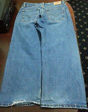 levis mens 569 jeans size 14 husky loose straight W 33 L28 ripped