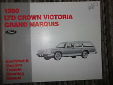 1990 Ford LTD Crown Victoria & Grand Marquis Electrical Wiring Diagrams Manual