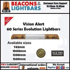 Vision Alert 742mm 2 Rotators  Illuminated Centre 12v Amber lightbar PN:602.3A01