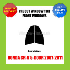 HONDA CR-V 5-DOOR 2007-2011 FRONT PRE CUT WINDOW TINT KIT