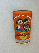 PUERTO VALLARTA,Hard Rock Cafe Pin,Pint Glass 2004