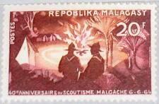 Madagascar MALAGASY 1964 521 356 camps de jeunes feu Boy scouts Campfire MNH