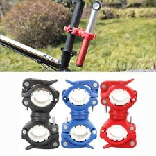 Light Bracket Bike Holder LED Torch Headlight Pump Stand Release Mount Rotatable