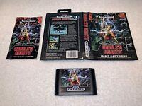 Ghouls 'n Ghosts (Sega Genesis, 1989) CIB Complete in Box Nice!