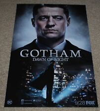 SDCC 2017 EXCLUSIVE DC FOX GOTHAM DAWN OF NIGHT POSTER