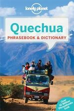 LONELY PLANET QUECHUA PHRASEBOOK & DICTIONARY - LONELY PLANET PUBLICATIONS (COR)