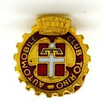 Distintivo Automobile Club Torino (A.E. Lorioli Fratelli Milano) cm.1,5 x 1,4