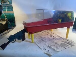 VINTAGE MARX ELECTRO SHOT SHOOTING GALLERY Complete with Original Instructions