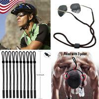 USA 1/2/5/10 PCS Neck Strap Sport Sunglass Eyeglass Glasses Cord Lanyard Holder