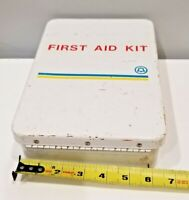 Vintage Southwestern Bell Company First Aid Kit-Metal Box Bell south
