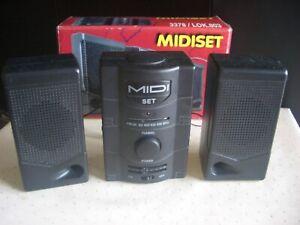 Mini Radio FM mit 2 Lautsprechern batteriebetrieben neu + ovp