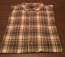 Wingo Casual Plaid Button Down Shirt Long Sleeve Size XL