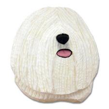 Puli Head Plaque Figurine White