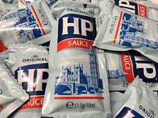 HP Brown Sauce Individual 11.5g Sachets Travel Holiday Lunchbox B&B's