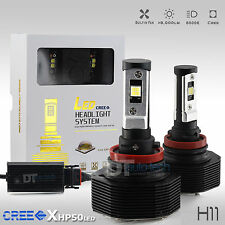 80W 8000LM CREE LED H11 Headlight Kit Low Beam Bulbs 6K White HID Replacement