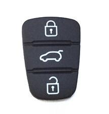 2PCS Keyless Remote 3 Button Key Pad Rubber for Hyunda I30 IX35 Kia Seed Sportag